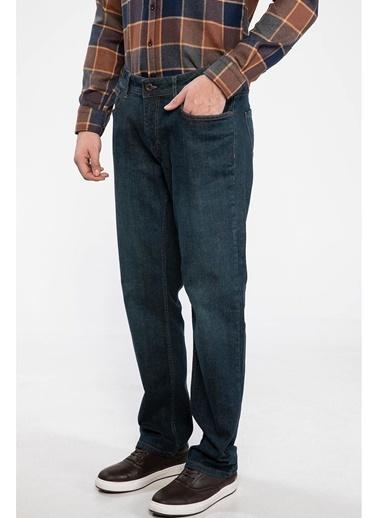 DeFacto Diago Comfort Fit Denim Pantolon Yeşil